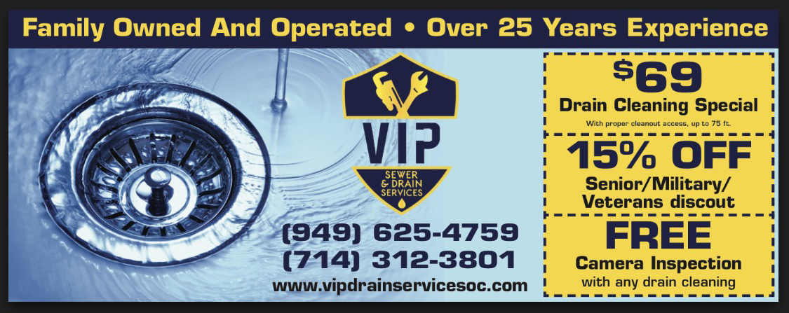 drain services coupons