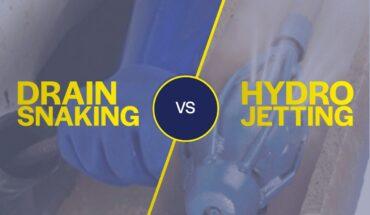 Plumbing Snaking vs Hydro Jetting
