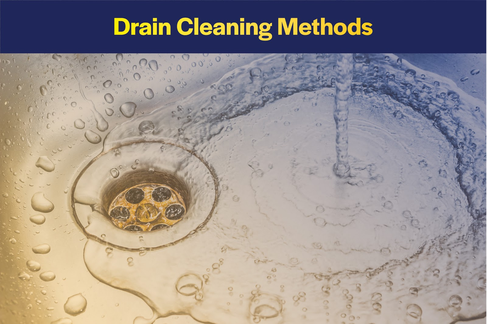 drain cleaning methods