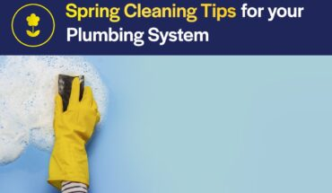 spring cleaning plumbing system