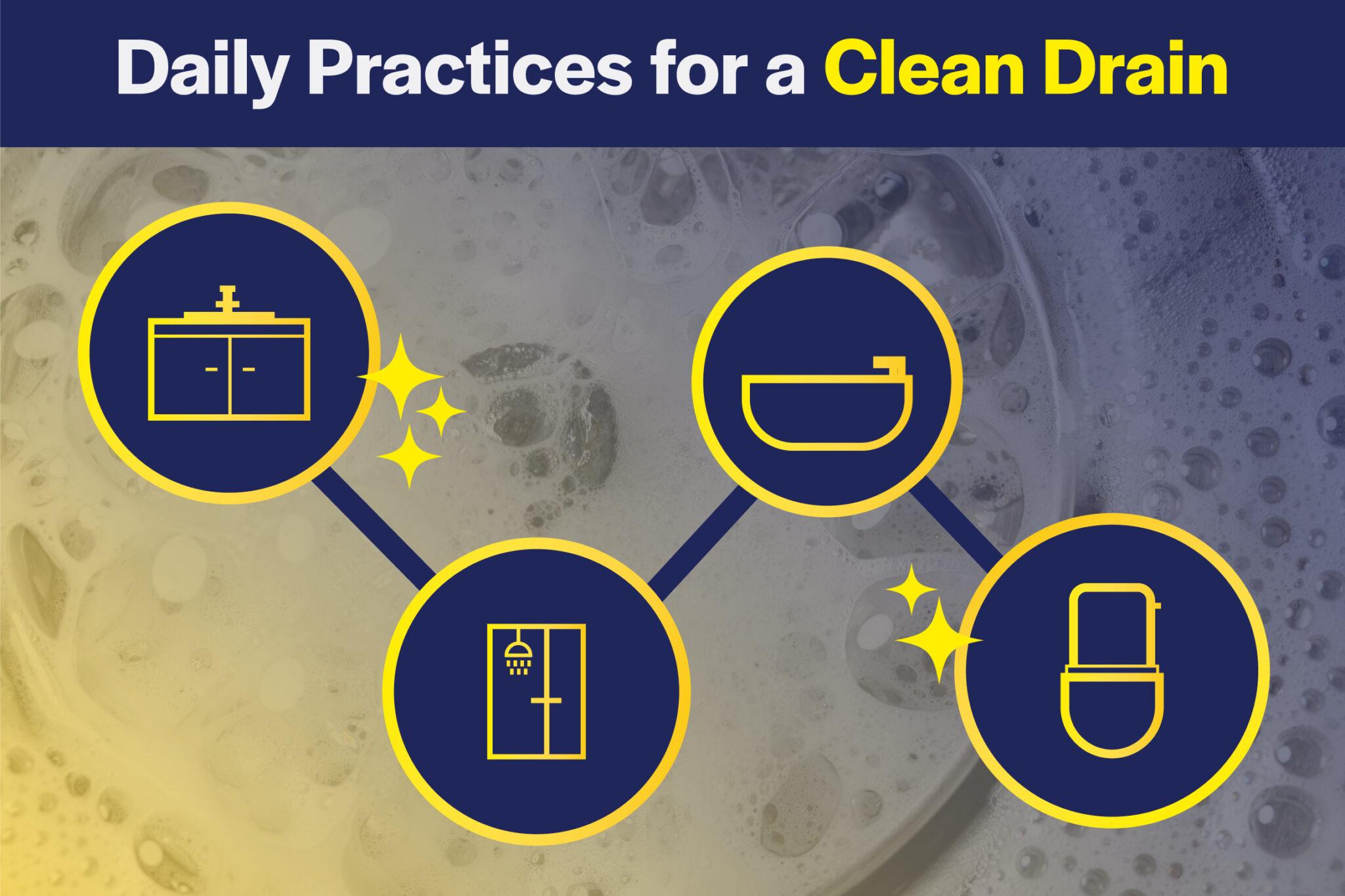 clean drains