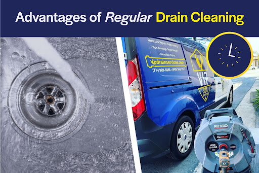 regular drain cleaning